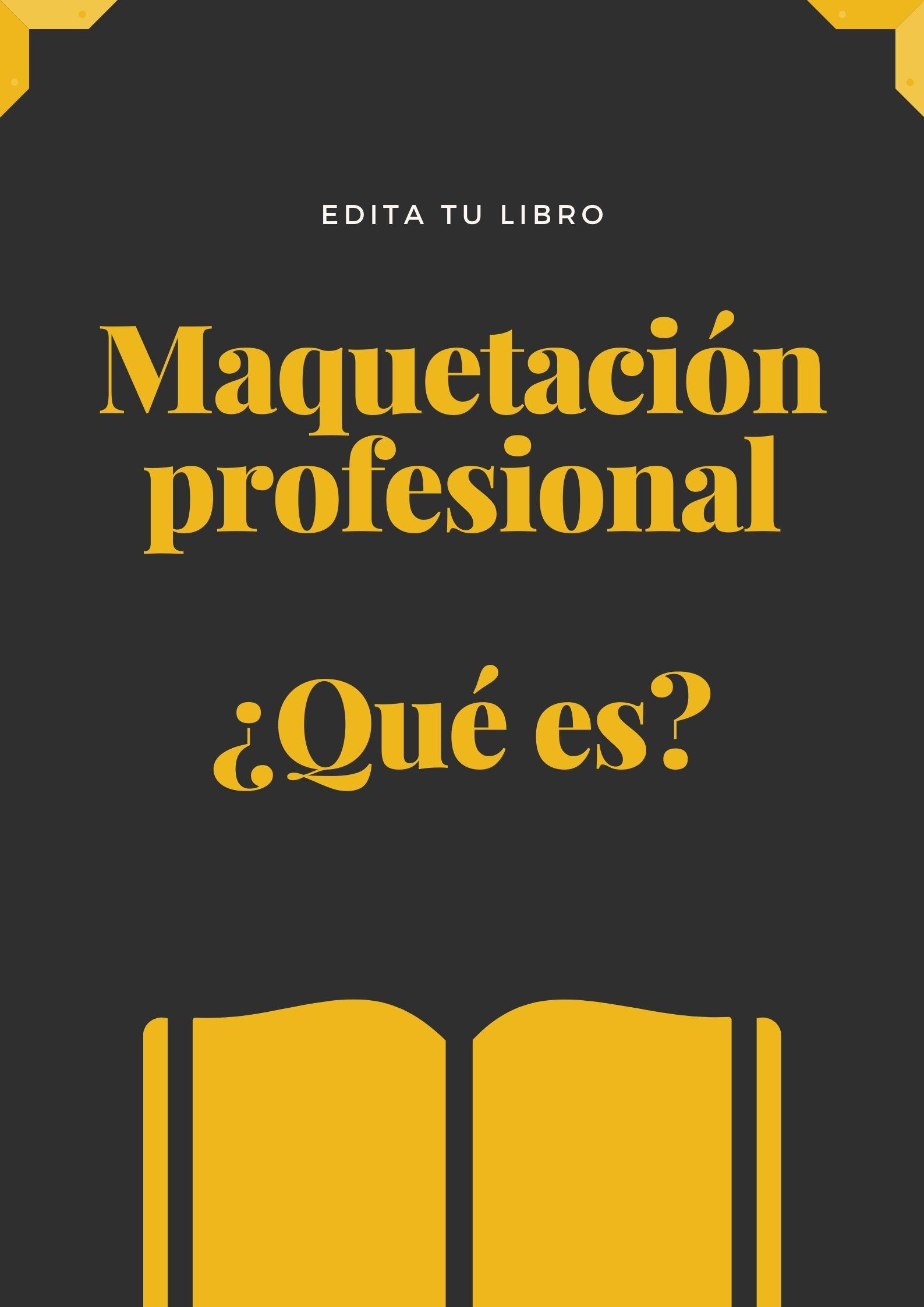Edita tu libro: ¿Qué es una maquetación profesional?