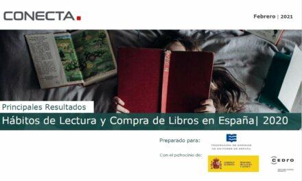 Barómetro de Hábitos de lectura y compra de libros 2020: más lectores, más jóvenes y más fieles a las librerías