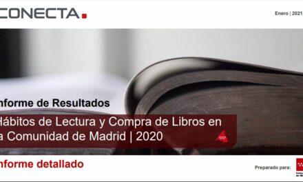La Comunidad de Madrid mantiene el liderazgo en índices de lectura