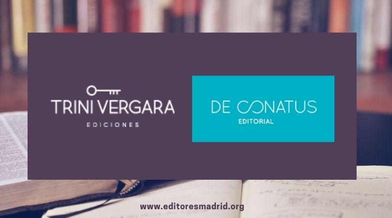 Trini Vergara Ediciones y De Conatus Publicaciones, nuevas editoriales asociadas