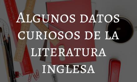 La literatura inglesa en números: algunos datos curiosos.