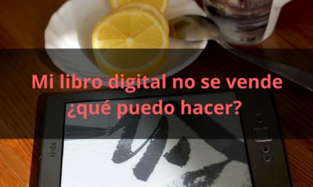 Mi libro digital no se vende ¿Qué puedo hacer?