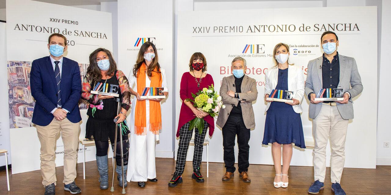 La Asociación de Editores de Madrid entrega el Premio Antonio de Sancha a los impulsores de la Biblioteca Resistiré