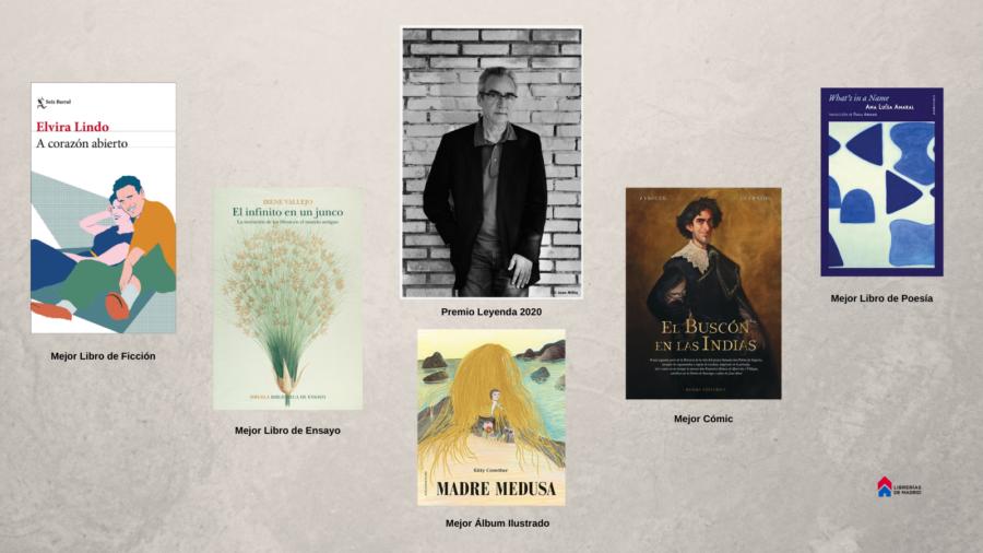 Las librerías de Madrid fallan sus premios anuales