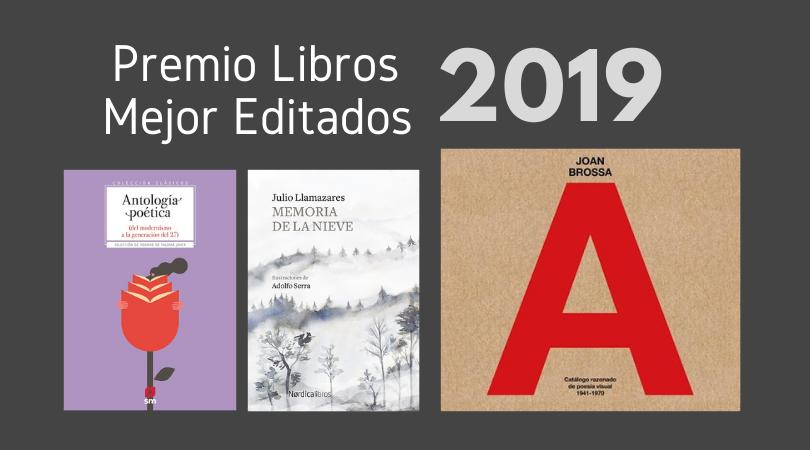 Cultura concede los Premios a los Libros Mejor Editados de 2019