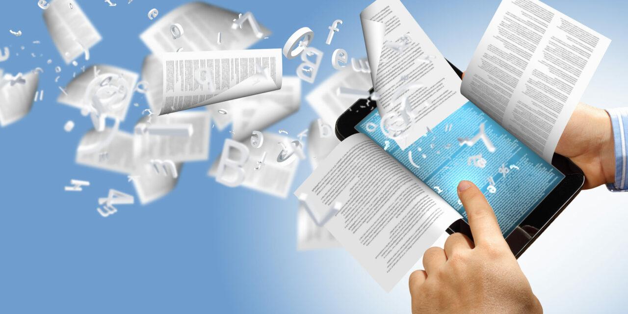 Transformación digital de la industria editorial: conectando los contenidos en papel con sus versiones digitales