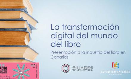 La transformación digital del mundo del libro: presentación Feria del Libro de Santa Cruz de Tenerife