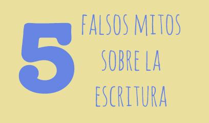 5 falsos mitos sobre la escritura