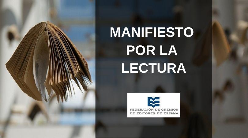 La Federación de Gremios de Editores presenta en Liber su 'Manifiesto por la Lectura'