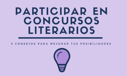 5 consejos para participar en concursos literarios
