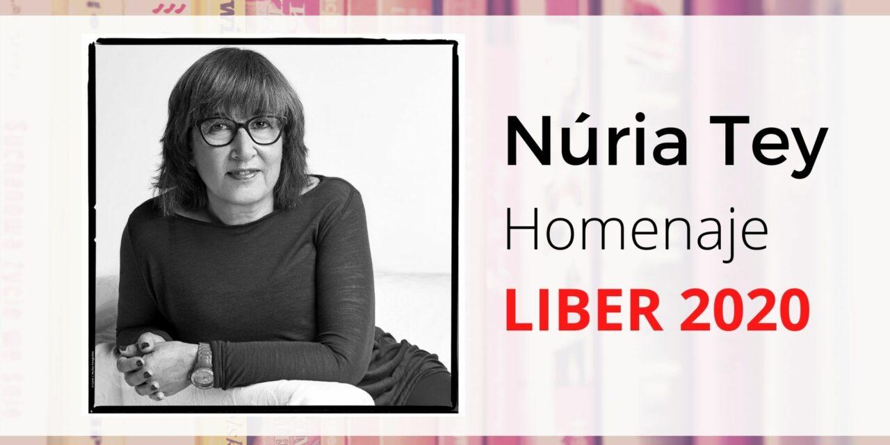 Liber 2020 homenajea a la editora Núria Tey
