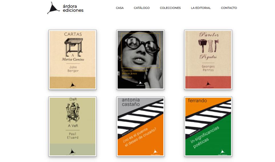 Árdora Ediciones, Premio Nacional a la Mejor Labor Editorial Cultural 2020