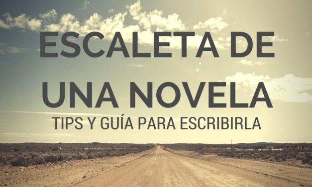 Cómo hacer la escaleta de una novela