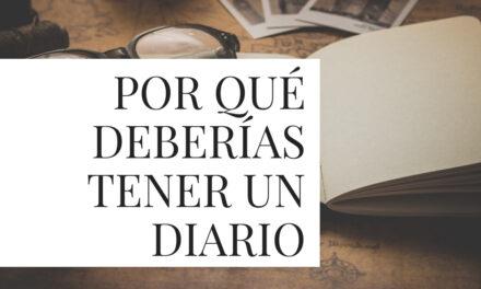 Escribir un diario puede ayudar a tu escritura