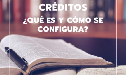 ¿Qué es y qué debe contener la página de créditos de un libro?