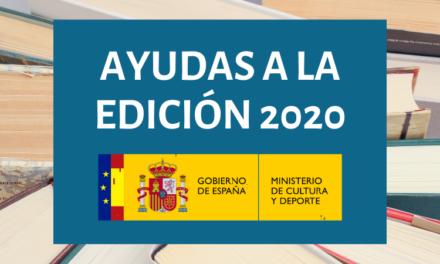 Abierta la convocatoria de Ayudas a la Edición de Libros, a la Traducción, a la Promoción de la Industria Editorial y a la Promoción de la Lectura 2020