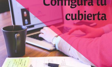 Usa la herramienta de cubiertas para configurar tu libro