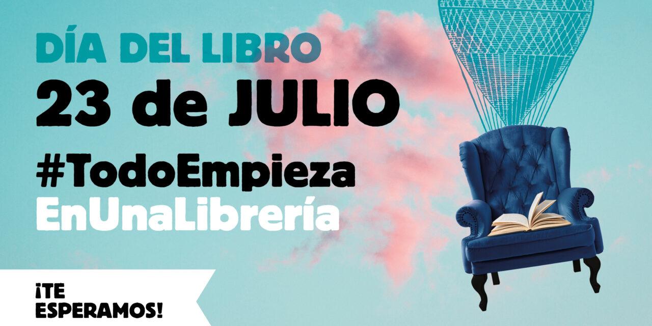 El sector se une para celebrar el Día del Libro el próximo 23 de Julio