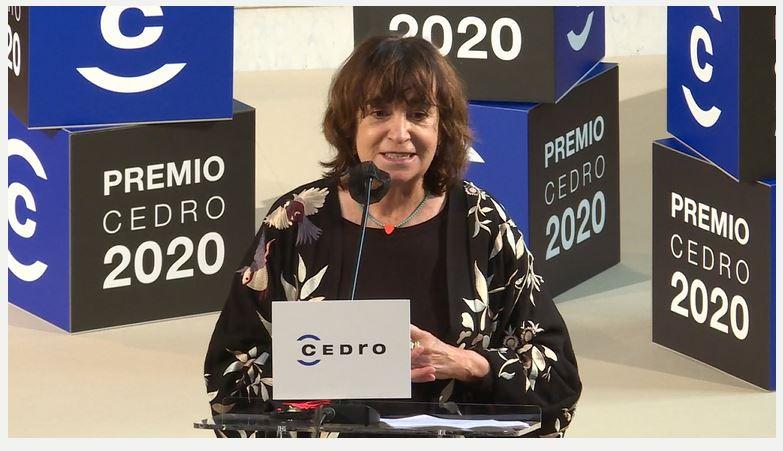 Rosa Montero recibe el Premio CEDRO