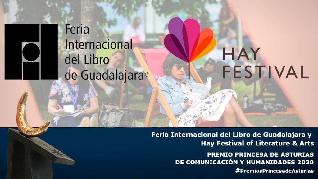 La FIL de Guadalajara y el Hay Festival, Premios Princesa de Asturias de Comunicación 2020