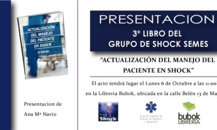 """Presentación del libro """"Actualización del manejo del paciente en shock"""""""