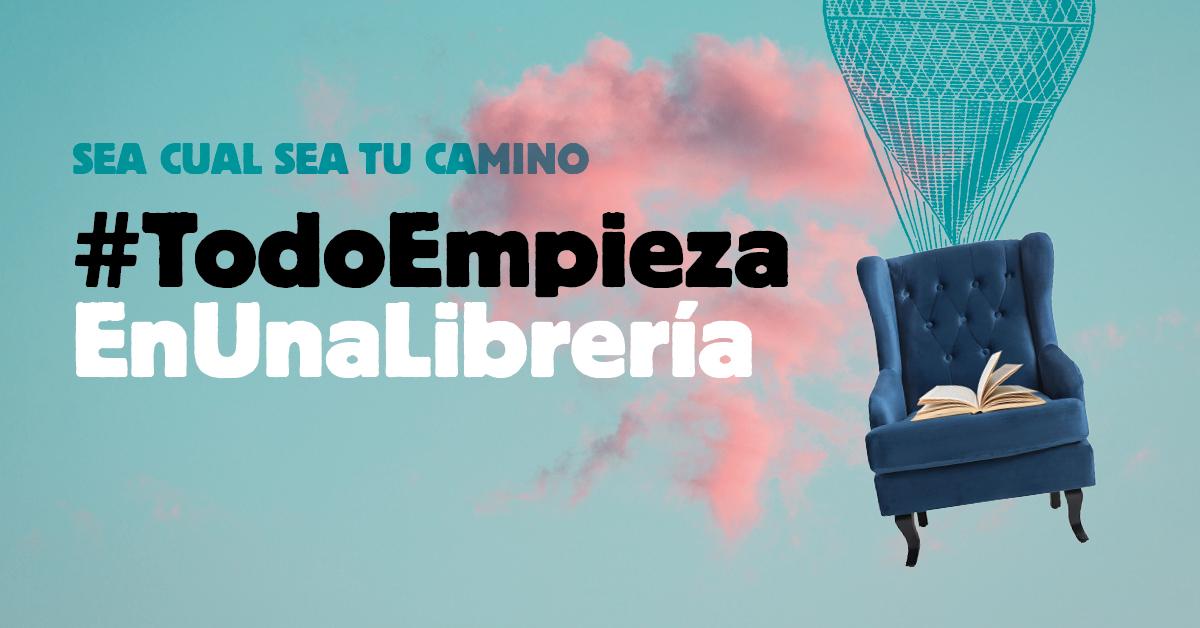 #TodoEmpiezaEnUnaLibrería, el sector del libro se une en una campaña para reactivar su actividad