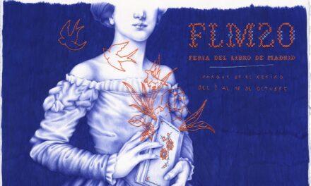El cartel de la 79 Feria del Libro de Madrid, de Nuria Riaza, rinde homenaje a escritoras y lectoras