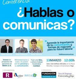 Javier Cebreiros, autor de Bubok, nos ofrece una coferencia sobre cómo comunicar bien