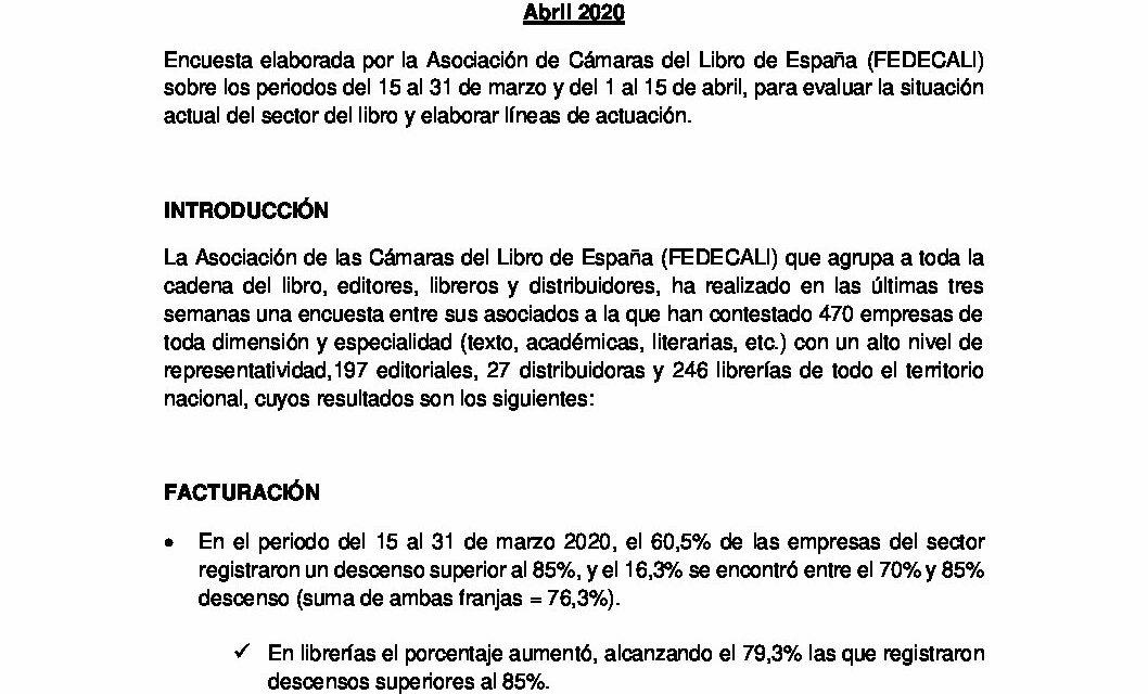 Carta de Manuel González a los asociados. 28 de abril