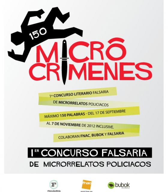 Primer Concurso Falsaria de Microrrelatos de temática policiaca