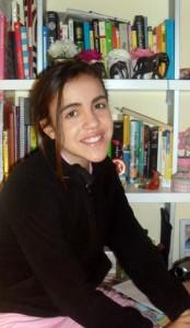 Carla Herrera, escritora a los 12 años