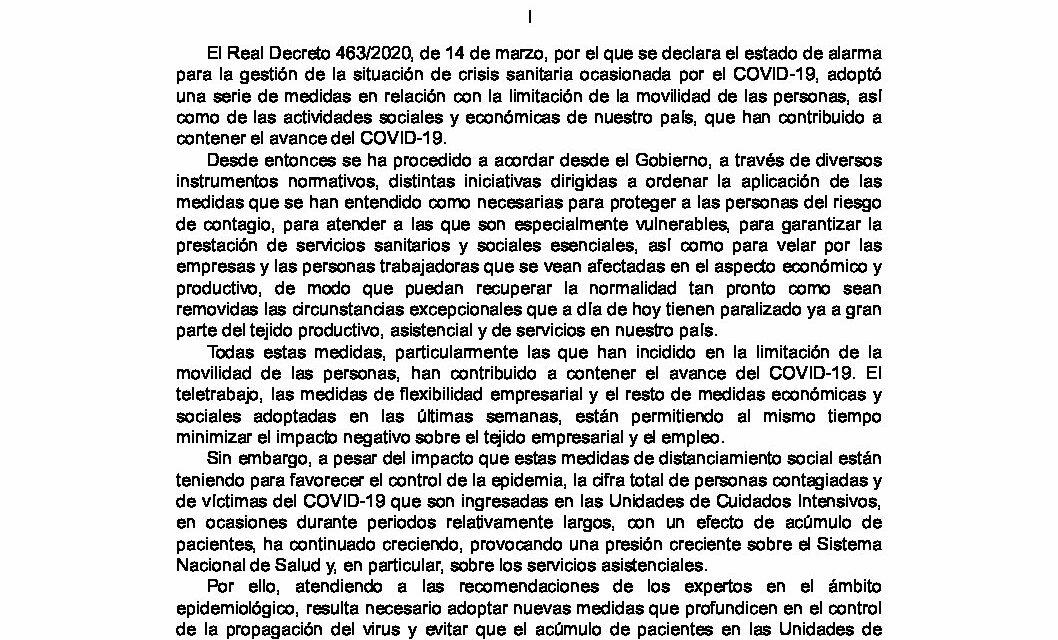 CIRCULAR Nº 14/20: NUEVAS INFORMACIONES RELACIONADAS CON EL CORONAVIRUS