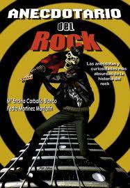 Mª Encina Carballo publica «Anecdotario del Rock»