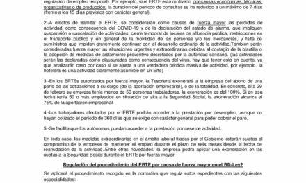 CIRCULAR Nº 12/20: INFORMACIÓN DIVERSA RELACIONADA CON EL CORONAVIRUS