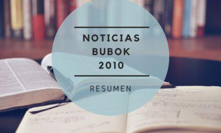 Noticias Bubok 2010, un resumen