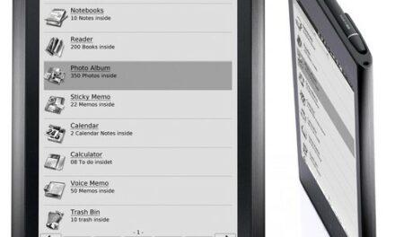 Asus y su eReader del 2011