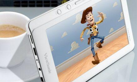 ViewSonic saca un eReader con el que puedes ver películas
