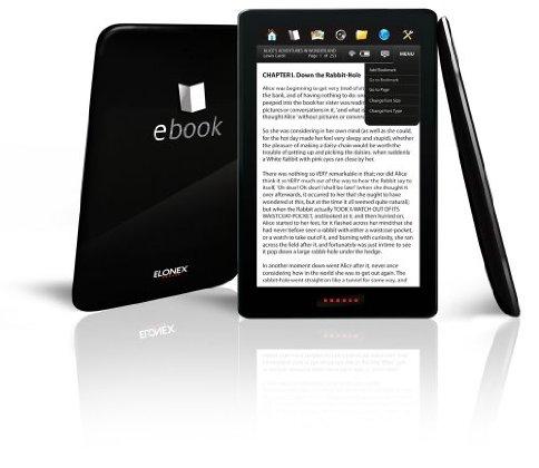 Elonex 710EB, alternativa al iPad y a los eReader de tinta electrónica