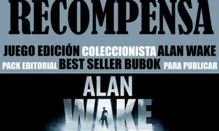 Se busca escritor: Concurso Alan Wake. Tu opinión también cuenta