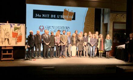 El Gremio de Editores de Cataluña celebra la 34 Nit de l'Edició