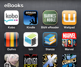 Lista de aplicaciones para leer eBook en iPhone