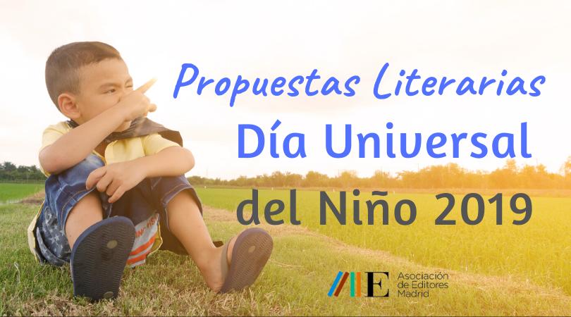 Propuestas literarias para el Día Universal del Niño