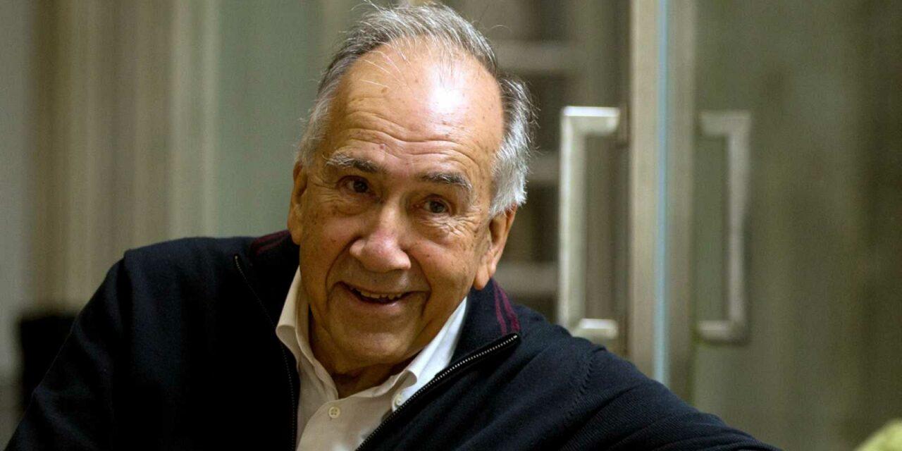 El poeta bilingüe Joan Margarit, Premio Cervantes 2019