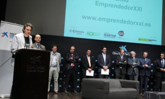 Bubok gana el premio Emprendedor XXI en Madrid