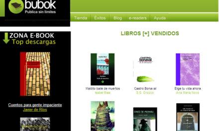 Nuevo boletín: 100% libros Bubok