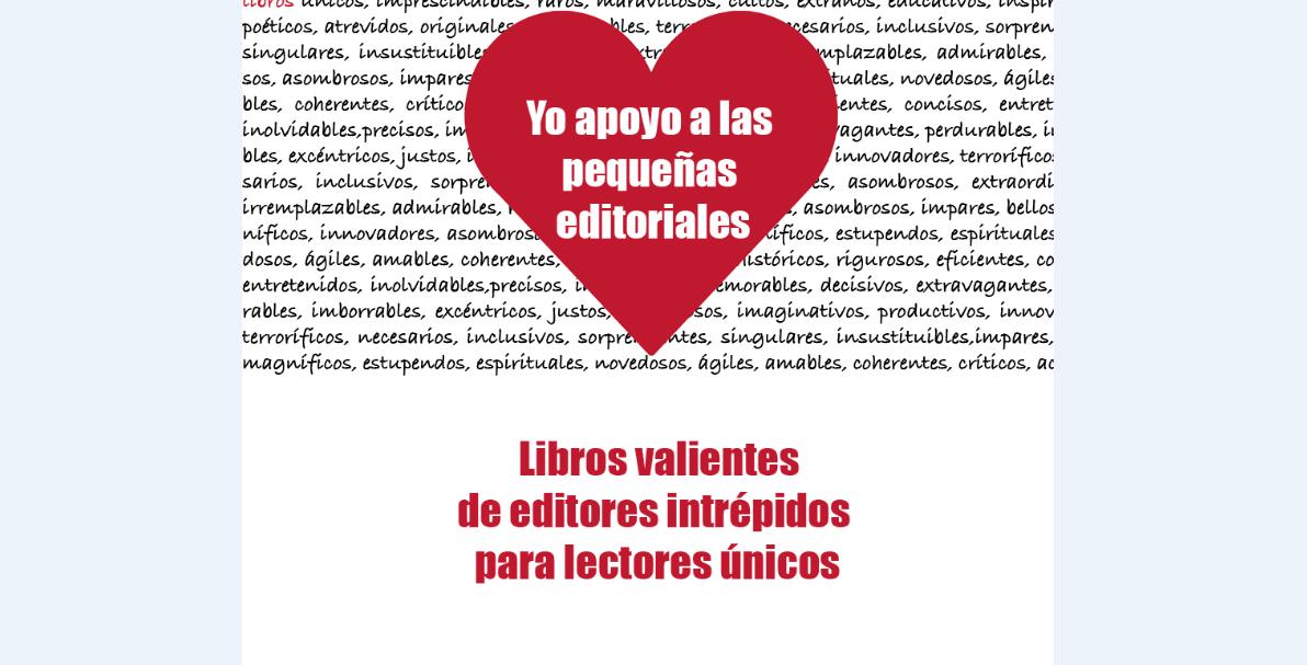 """La campaña """"Dale """"me gusta"""" a las pequeñas editoriales"""" llega a la Feria del Libro de Madrid"""