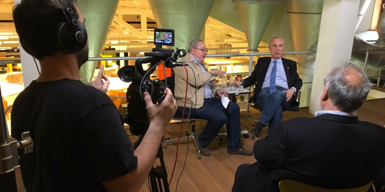 Ya está disponible en YouTube el encuentro A DOBLE ESPACIO con Luis Alberto de Cuenca y Jesús Egido