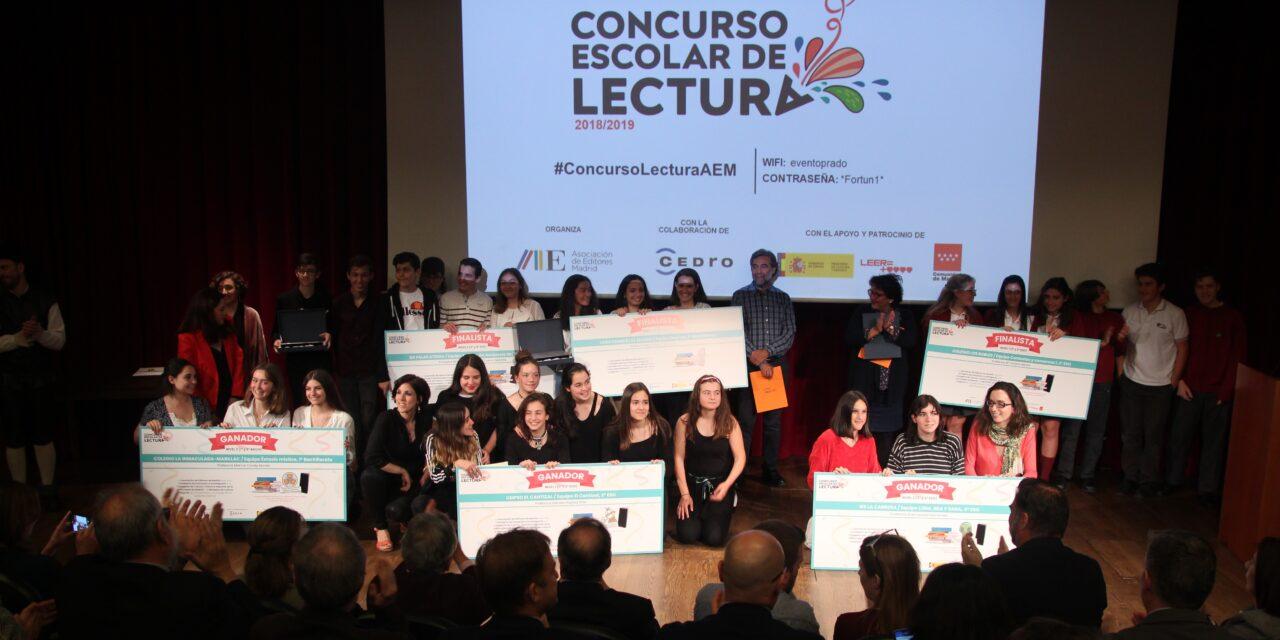 Premios del Concurso de Lectura de la AEM. El Museo del Prado se llena de jóvenes lectores.