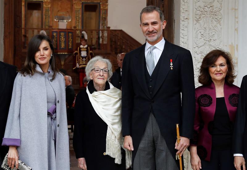 Ida Vitale recibe el Premio Cervantes