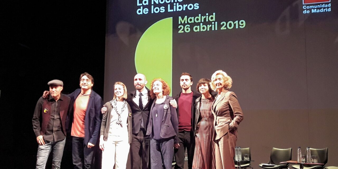 Lorca protagoniza la presentación de La Noche de los Libros